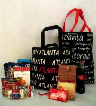 Atlanta Wedding Gift Bag Ideas : Sensational Atlanta Tote Bags (USD15-USD100 & Up)