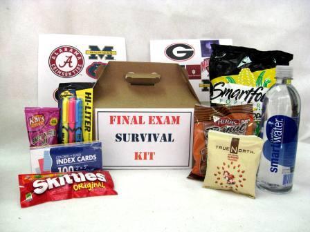Sensational Final Exams Survival Kit 28 40